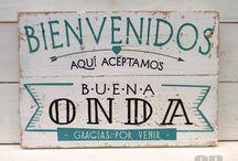 Letreros vintage