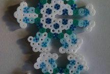 Hvězdy z hama korálků