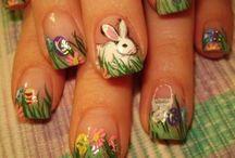 húsvéti körmök