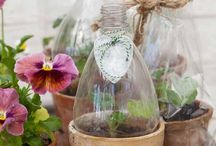 Reuse, Recycle / Eco-friendly products and crafts.