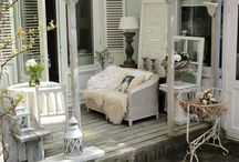 Outdoor Porches / Outdoor Living At It's Best / by Patricia Newman