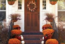 Fall Decorations / Decorations for every holiday