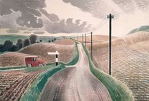 Eric Ravilious / Born in 1903, Ravilious was an English painter, illustrator and printmaker.