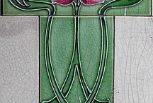 Art-Deco & Jugendstil afbeeldingen / afbeeldingen van organische vormgeving en versiering