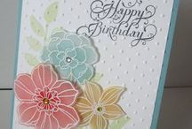 stampin up cards/& a few others / by Lynn Ehn