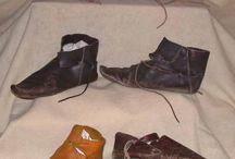 Medieval footwear