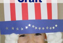 Kindergarten USA Crafts / American themed crafts for primary students