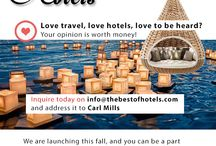 The Best of Hotels Travelers / Your story to the world!