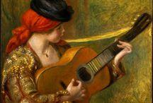 Gitara na obrazach / Obrazy na których jest gitara