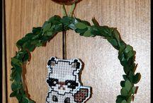 zwierzęta leśne - haft krzyżykowy