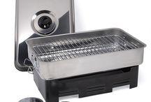 Rookoven / Met de Rookoven kunt u gemakkelijk vis en vlees roken en grillen. De Rookoven bestaat uit: braadslede, deksel, rooster, lekplaat