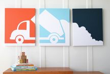 Lil Boy Room Ideas / by Holly Coleman
