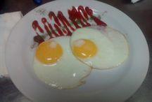утро вкусняшки завтрак