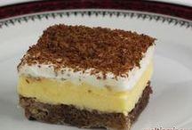 Blech Kuchen mit Pudding