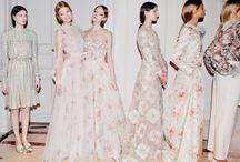 Coordinated Bridesmaids