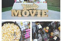 13 års bursdag- outdoor movie night
