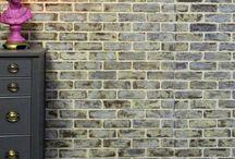 how to make a fake brick wall look real.