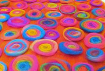 Filzen & (be-) Sticken/felt & embroidery