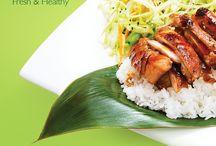 Aloha Plate ... Fresh and Healthy
