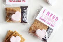 Valentines class treats