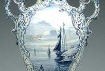 Porzellan - Vase