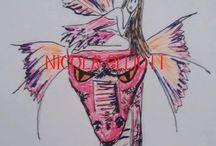 Fabulous Fairies, Machine embroidery designs