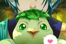 Eldarya / Odeio essa piranha azul!