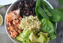 Rice, Quinoa and couscous