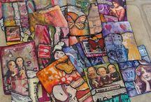 Carte - ATC (Artist Trading Cards) Pocket Letters / Petites cartes artisanales pour échanger selon certaines règles ATC et Pocket letters