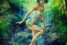 Fae Wings / A collection of Fairies, angels and other ethereal beings. / by Rachel Green