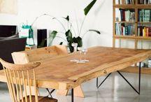 Tables bois