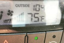 The temperature of my car (and my ass) is 104° The temperature of my car (and my ass) is 104°
