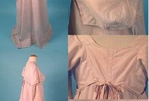 Regency tutorials / Tutorials for gowns and underpinnings from the beginning of the 19th century.