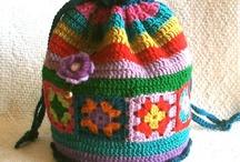 Crochet bags  / by Annie Lewis