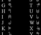 Alfabeter/bokstaver