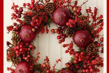 wreaths, posies etc