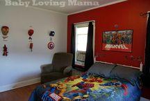 Avengers/superhero nursery / by Beverly Barnhart