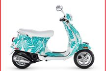 Ride Colorfully / Where I would travel on my fab turquoise kate spade new york Vespa!