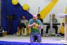Cenáculo para Jovens / Dias 14 e 15 de Abril de 2012  Local: Ginásio do São Viscente de Paulo