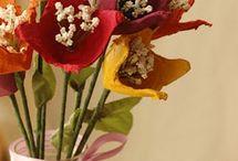 Pręciki do kwiatów / Stamens / Flowe stamens - inspirations and tutorials Pręciki do kwiatów - inspiracje , tutoriale
