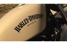 Motorcycles vintage colors