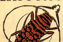 Eugène Séguy / Eugène Séguy (1890 – 1985) was a French entomologist who published many portfolios of illustrations and designs from the turn of the century to the 1930s who worked in both the Art Deco and Art Nouveau styles. Séguy wanted to use his artistic skill to glorify the sublime beauty of nature, creating what he called a 'world of sumptuous forms and colours.' He then transformed these beautiful illustrations into textile designs.
