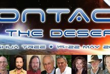 CITD 2017 Line Up / Speakers at the CONTACT IN THE DESERT conference, May 19-22, 2017 at the Joshua Tree Retreat Center.
