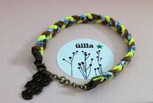 bracelet tressé / bracelet liberty tressé vegan üilla design