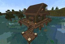 Maisons minecraft