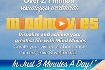 MIND MOVIES & MAPS & VISION BOARDS / MIND MAPS - MIND MOVIES - VISION BOARDS --> Imagining a Life Into Being via Visual Display of Images & Emotions --> Serving as a Reference and a Reminder for Focused Attention