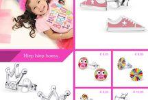 Zilveren kinderoorbellen / Zilveren kinderoorbellen, een geweldig cadeautje voor je kleine meid......
