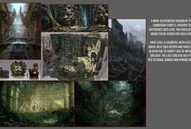 Game Project 6 - Hack'n Slash / Moodboards and references for our next game project.