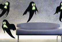 Halloween Wall Decals  / Hair-raising wall decals that will make your Halloween party a big hit!!  / by DezignWitha Z