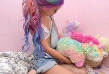 cheveux colorés ! XD
